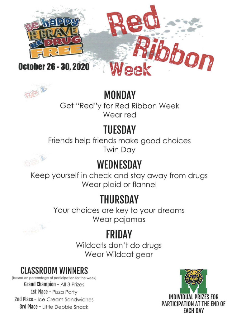 Red Ribbon Dress Up Days 2020 (High School)